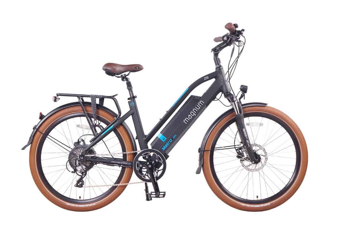Magnum Metro Low Step Premium Electric Hybrid Bike