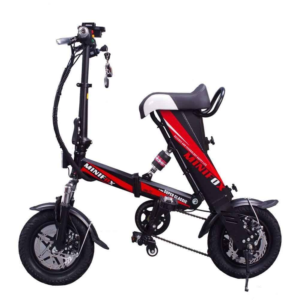 MEIYATU E-Bike - Folding Electric Bicycle