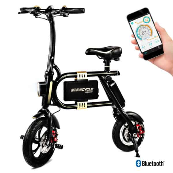 Swagtron SwagCycle Classic E-Bike - Folding Electric Bicycle