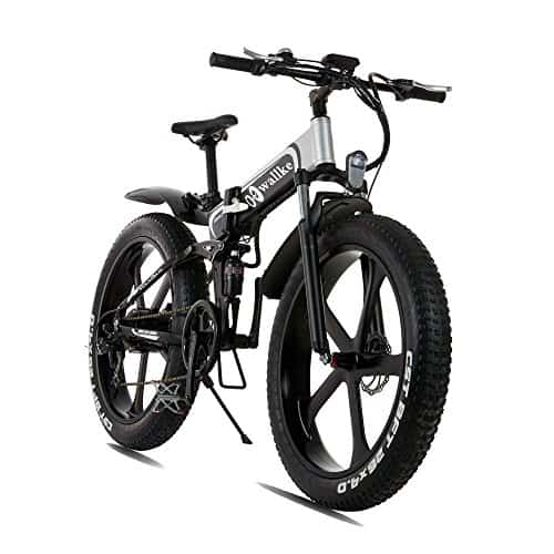 W Wallke Folding Aluminum Electric Bike