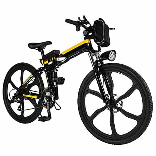 ferty Folding 36V 250W Electric Moped Sport Mountain Men Bicycle