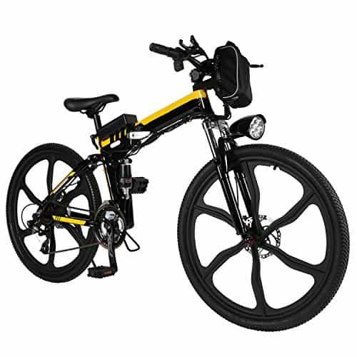 ferty Folding 36V 250W Electric Moped Sport Mountain Men Bicycle