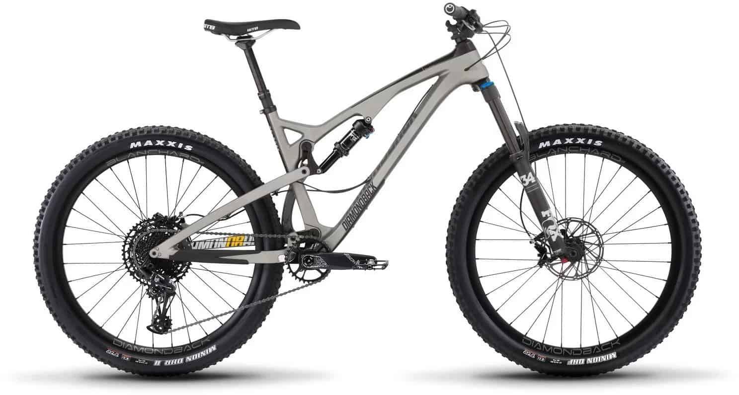 Diamondback Bicycles Release 4 C Carbon Full Suspension Mountain Bike