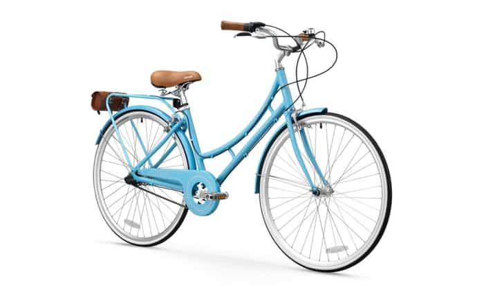 FIRTH SPORTS Nadine SE Women's Aluminum Step-Thru City Bike