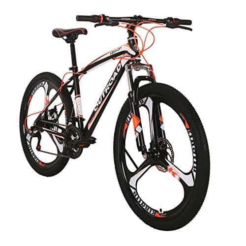 Outroad Mountain Bike 6 Spoke 21 Speed 700CC Double Disc Brake Suspension