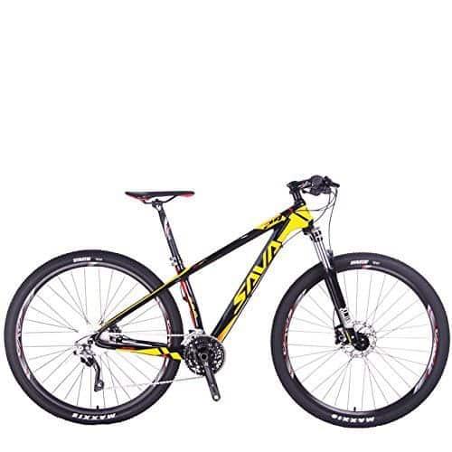 SAVADECK DECK300 Carbon Fiber Mountain Bike Complete Hard Tail