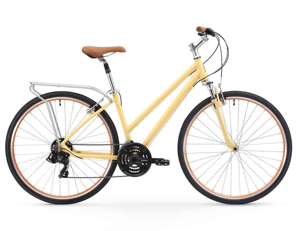 sixthreezero Pave N Trail Womens Hybrid Road Bicycle Rear Rack