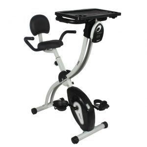 Xspec Upgraded Dual Recumbent Upright Indoor Foldable Exercise