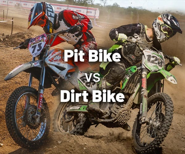 Differences Between a Pit Bike and a Dirt Bike