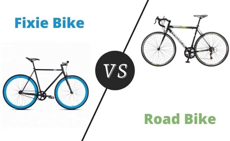 Fixie vs. Road Bike