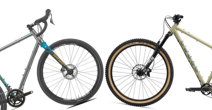 Gravel Bike And A Mountain Bike
