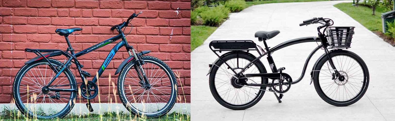 How Is A Cruiser Bike Different From A Mountain Bike