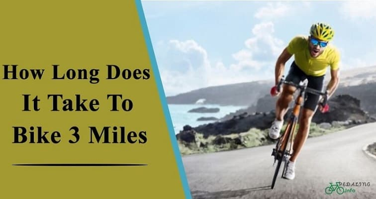 How Long Does It Take To Bike 3 Miles?