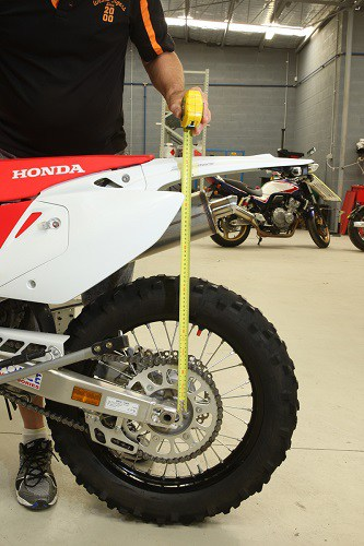 How To Measure A Dirt Bike Size