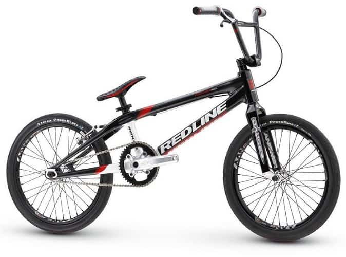 Racing BMX bike