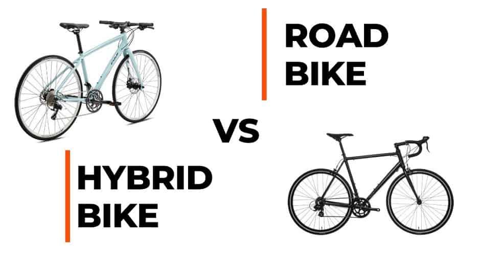 Road Bike vs. Hybrid Bike