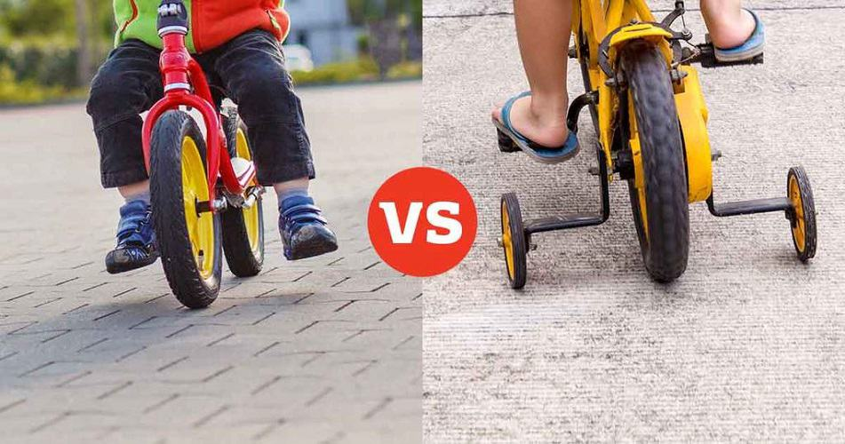 What Is The Difference Between A Balance Bike And Training Wheel