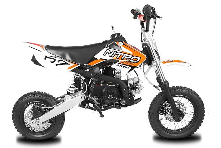 pit bike with small wheel